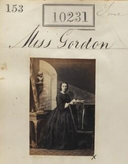 Mary Charlotte Julia Leith (née Gordon), by Camille Silvy - NPG Ax59946