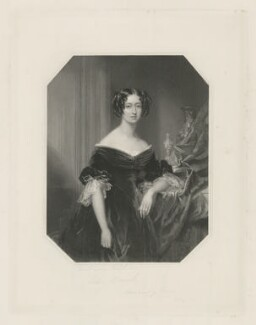 Maria Grey (née Copley), Countess Grey, by Joseph Brown, published by  Joseph Hogarth, after  Frederick Richard Say - NPG D34961