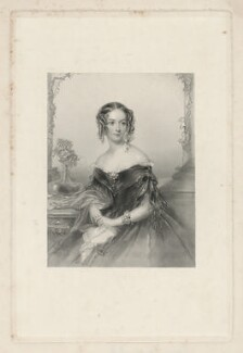Anne Elizabeth Grey-Egerton (née Legh), after John Hayter - NPG D34964