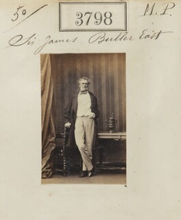 Sir James Buller East, 2nd Bt, by Camille Silvy, 21 May 1861 - NPG Ax53189 - © National Portrait Gallery, London
