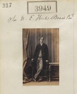 Michael Edward Hicks Beach, 1st Earl St Aldwyn, by Camille Silvy - NPG Ax53964