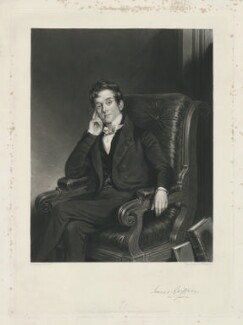 James Griffin, by Samuel William Reynolds Jr, printed by  Brooker & Harrison, published by  Thomas Agnew, after  W. Scott - NPG D34967