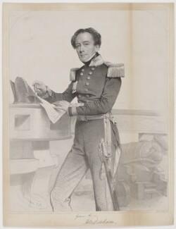 Sir Henry Mangles Denham, by Charles Baugniet, printed by  M & N Hanhart - NPG D35016