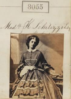 Hypatia Schilizzi (née Schilizzi), by Camille Silvy - NPG Ax57889