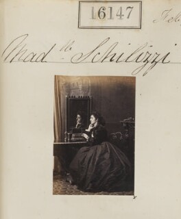 Hypatia Schilizzi (née Schilizzi), by Camille Silvy - NPG Ax64066