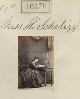 Hypatia Schilizzi (née Schilizzi), by Camille Silvy - NPG Ax64095