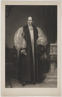 Edward Denison, by George Raphael Ward, published by  W. Thompson & Son, published by  Paul and Dominic Colnaghi & Co, after  Henry William Pickersgill - NPG D35017