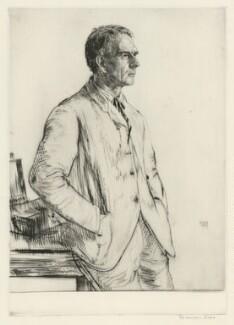 Charles Herbert Grinling, by Francis Dodd - NPG D34972