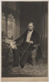 William Joseph Denison, by William Giller, after  Frederick Richard Say - NPG D35019