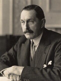 Wilfrid William Ashley, 1st Baron Mount Temple, by H. Walter Barnett - NPG x45443
