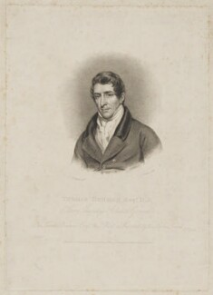 Thomas Denman, 1st Baron Denman, by and published by Charles Turner, and published by  Anthony Molteno, after  John James Halls - NPG D35021
