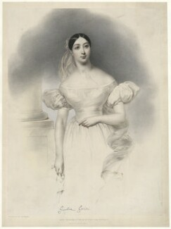 Giulia Grisi, by Joseph Mathias Negelen, printed by  Graf & Soret, published by  John Mitchell - NPG D34979