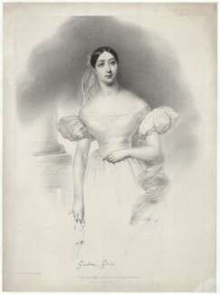 Giulia Grisi, by Joseph Mathias Negelen, printed by  Graf & Soret, published by  John Mitchell - NPG D34980
