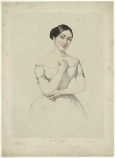 Giulia Grisi, by Firmin Salabert, printed by  Thierry Frères - NPG D34982
