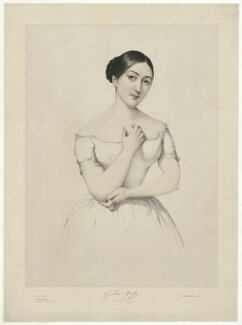 Giulia Grisi, by Firmin Salabert, printed by  Thierry Frères - NPG D34983