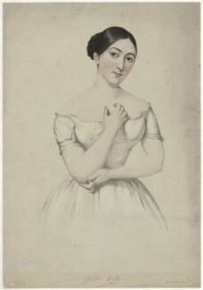 Giulia Grisi, by Firmin Salabert, printed by  Thierry Frères - NPG D34984