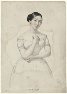 Giulia Grisi, by Firmin Salabert, printed by  Thierry Frères - NPG D34985
