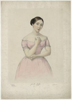Giulia Grisi, by Firmin Salabert, printed by  Thierry Frères - NPG D34986