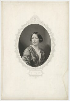 Giulia Grisi, by George Zobel, published by  John Mitchell, after  Leonida Caldesi - NPG D34987
