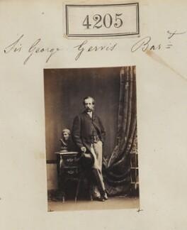 Sir George Eliott Meyrick Tapps-Gervis-Meyrick, 3rd Bt, by Camille Silvy - NPG Ax54220