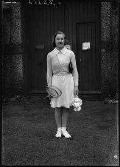 Barbara Behr (née Costerton), by Bassano Ltd - NPG x154434
