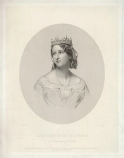 Constance Gertrude (née Sutherland-Leveson-Gower), Duchess of Westminster, by Francis Holl, printed by  McQueen (Macqueen), published by  John Mitchell, after  James Rannie Swinton - NPG D34991