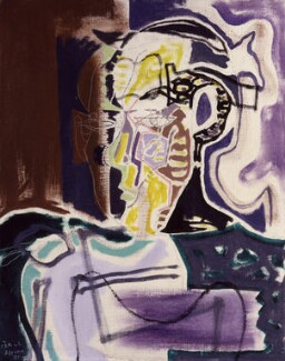 Patrick Heron, by Patrick Heron, 1951 - NPG  - © reserved; collection National Portrait Gallery, London