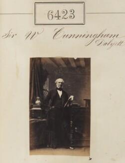 Sir William Cunningham Cavendish Dalyell, 7th Bt, by Camille Silvy - NPG Ax56359