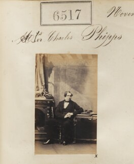 Sir Charles Beaumont Phipps, by Camille Silvy - NPG Ax56450