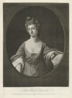 Henrietta Grosvenor (née Vernon), Countess Grosvenor ('Lady Harriot Grosvenor'), published by Carington Bowles - NPG D34993