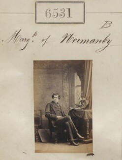 Constantine Henry Phipps, 1st Marquess of Normanby, by Camille Silvy - NPG Ax56464
