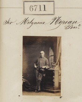 Sir Molyneux Hyde Nepean, 3rd Bt, by Camille Silvy - NPG Ax56638