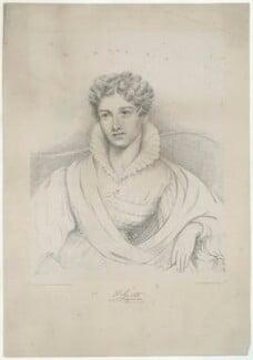 Harriet Grote (née Lewin), by Charles George Lewis, printed by  Jérémie Graf, after  Charles Landseer - NPG D34999