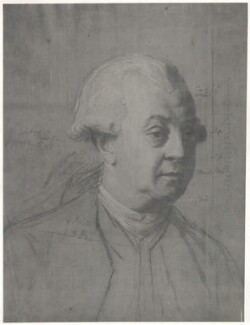 Unknown man, formerly known as Frederick North, 2nd Earl of Guilford, after John Singleton Copley - NPG D35007