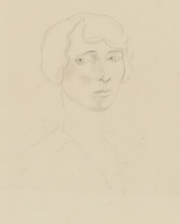 Lydia Lopokova, by Christopher Wood - NPG 6881