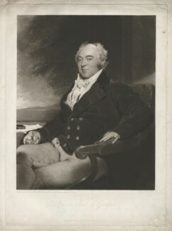 Francis North, 4th Earl of Guilford, by and published by Charles Turner, after  Sir Thomas Lawrence - NPG D35011