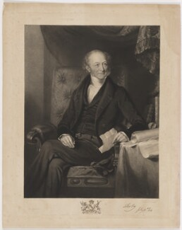 Edward Smith Stanley, 13th Earl of Derby, by Frederick Christian Lewis Sr, printed by  Brooker & Harrison, published by  Thomas Agnew, and published by  Anaglyphic Company, after  William Derby - NPG D35037