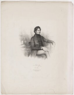 Edward Stanley, 14th Earl of Derby, by Émile Desmaisons, published by  A.H. & C.E. Baily - NPG D35038