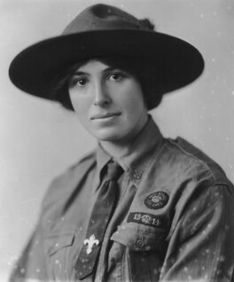 Olave St Clair Baden-Powell (née Soames), Lady Baden-Powell, by Vandyk - NPG x129932