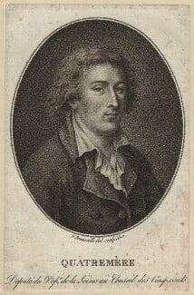 Antoine-Chrysostome Quatremère de Quincy, by François Bonneville - NPG D35201