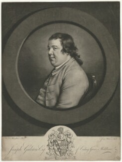 Joseph Gulston, by James Watson, after  Hugh Douglas Hamilton - NPG D35066