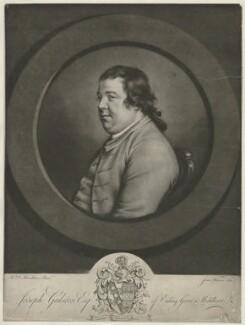 Joseph Gulston, by James Watson, after  Hugh Douglas Hamilton - NPG D35067