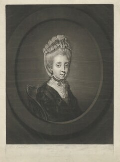 Elizabeth Bridgetta Gulston (née Stepney), by Richard Earlom, published by  Robert Sayer, after  Hugh Douglas Hamilton - NPG D35068