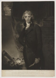 Robert Jenkinson, 2nd Earl of Liverpool, by and published by John Young, after  Sir Thomas Lawrence, published 14 February 1801 (1790s) - NPG D35205 - © National Portrait Gallery, London