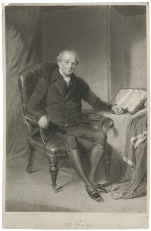 Sir John Gurney, by James Posselwhite, after  George Richmond - NPG D35073