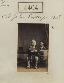 Sir John Easthope, 1st Bt, by Camille Silvy - NPG Ax54417