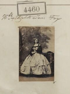 Hon. Elizabeth Catherine Cracroft (née Lane-Fox), by Camille Silvy - NPG Ax54473