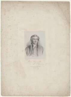 Joseph John Gurney, by Richard James Lane, printed by  M & N Hanhart, published by  Josiah Fletcher, after  George Richmond - NPG D35075