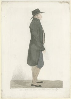 Mr Gurney ('Is Friend Rothschild on 'Change'), by and published by Richard Dighton, later published by  Thomas McLean - NPG D35076