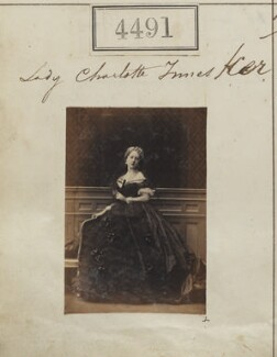 Lady Charlotte Isabella Russell (née Innes-Ker), by Camille Silvy - NPG Ax54504